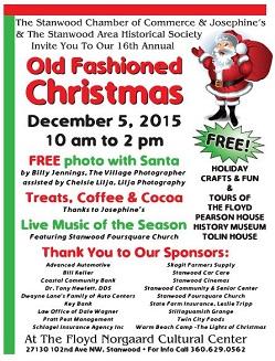 Old Fashioned Christmas Dec 5