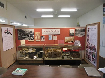 SAHS Library Display 2016