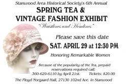 Waistlines & Hemlines Fashion and Vintage Clothing Exhibit