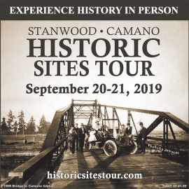 Stanwood Camano Historic Sites Tour Sept 20 - 21 2019