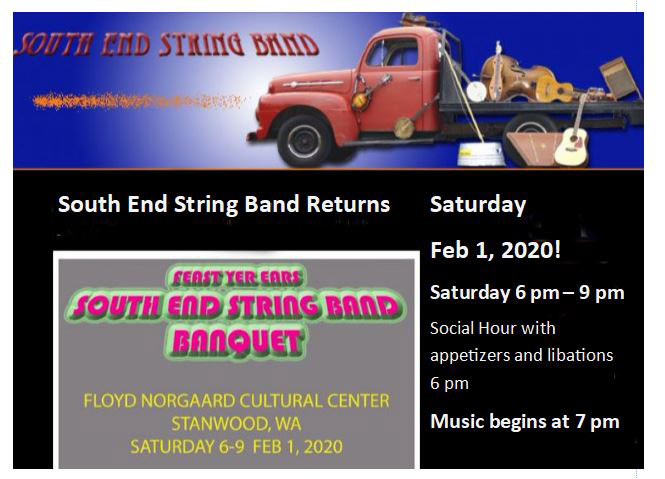 South End String Band Feb 1